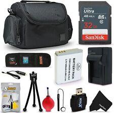 32GB Accessory Kit for Canon Powershot SX540 HS, SX530, SX520, SX710, SX610,