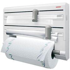 Leifheit 25703 Parat Comfort - Portarrollos de papel cocina pared