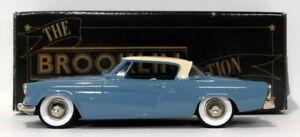 Brooklin Models 1/43 Scale BRK32A - 1953 Studebaker Starliner - Blue Cream