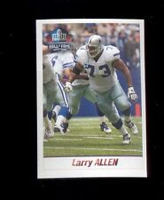 2013 Panini LARRY ALLEN Dallas Cowboys Hall of Fame Sticker Mint