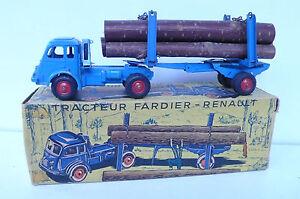CIJ TRACTEUR FARDIER RENAULT  BOITE D'ORIGINE REF 3/73