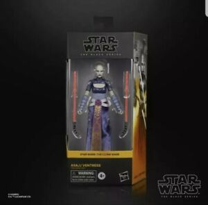 "ASAJJ VENTRESS Star Wars Black Series Figure 6"" Clone Wars"