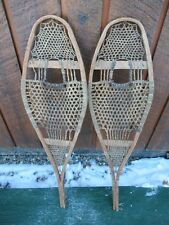 "ANTIQUE OLD Snowshoes 29"" Long by 8"" Wide"
