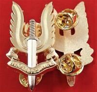 *10* x VIETNAM AFGHANISTAN SPECIAL AIR SERVICE REGIMENT UNIFORM CAP BADGE SASR