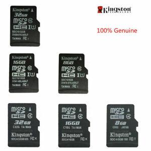 8GB 16GB 32GB Kingston MICROSD SDHC TF C4/C10 Speicher karte Memoria Fur Tablet