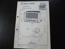Original Service Manual Philips BD222U
