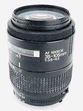 Nikon AF NIKKOR 35-105mm f/3.5-4.5 Zoom Lens Classic NIKON Camera Photography
