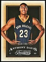 2013-14 Timeless Treasures Anthony Davis #'d 259/299 Lakers Pelicans Kentucky #9
