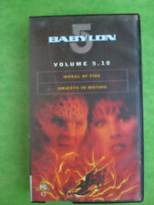 BABYLON 5 5:10 WHEEL OF FIRE/OBJECTS IN M (BRAND NEW & SEALED) -  RARE & DELETED