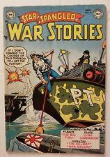 STAR SPANGLED WAR STORIES #15 (DC COMICS 1953) CLASSIC GOLDEN AGE DC WAR COMICS!