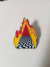 Twin Peaks Pin Dougie Jones Good Luck Charm featuring The Red Room
