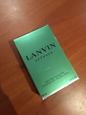 Lanvin Vetyver Cologne For Men 3.4oz/100 ml EDT Spray New Sealed box