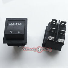 NEW 6V 12V KIDS Ride On Car MANUAL/R/C/REMOTE CONTROL SWITCH BMW MERCEDES