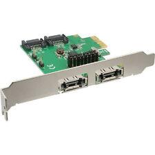 InLine Schnittstellenkarte 2 2-fach SATA 6gb/s PCIe Kein RAID