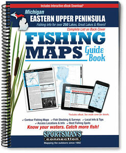 Michigan Eastern Upper Peninsula Fishing Map Guide | Sportsman's Connection