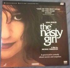 THE NASTY GIRL Laserdisc Michael Verhoeven '90 Lena Stolze Hans-Rheinhard Müller