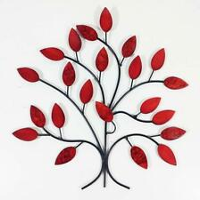 Contemporary Metal Wall Art Decor Sculpture Fire Summer Tree Branch UK POST FREE