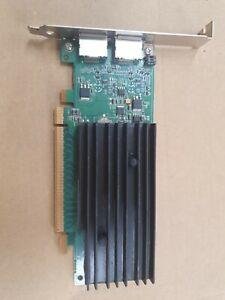 Dell NVIDIA NVS 295 256 MB 2X Display port Graphics Video Card 0X175K