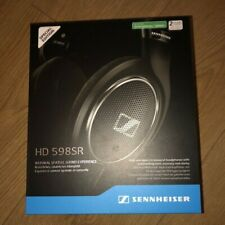 New Sennheiser HD 598 SR Over-Ear Headphones Open Back w/ in-line remote cable