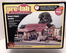 Woodland Scenics HO #5183 Sonny's Super Service structure kit NEW