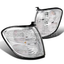 2001-2004 Toyota Sequoia Corner Lamps Signal Lights Chrome/ Clear Tundra Depo