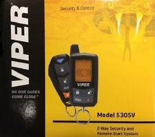 NEW VIPER 5305V 2-Way LCD Remote Car Security and Remote Start System