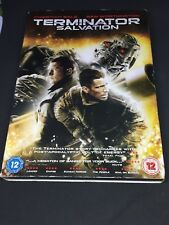 TERMINATOR SALVATION  - 1 DVD PAL 2 - 115 MIN - VOZ ORIGINAL INGLES BUEN ESTADO