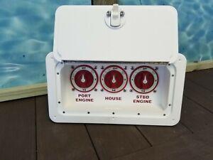 Battery Switch Box - Triple  Starboard Marine Boat RV