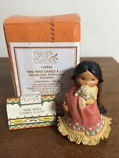 """Enesco Friends of The Feather """"She Who Cares A Lot"""" Figurine 1994"""