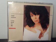 Janet Jackson - Come Back to Me (Promo CD Single, 1989, A&M)