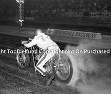 Early Drag Bike Irwindale Raceway NHRA 8x10 Vintage Photo