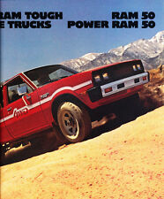 1983 Dodge Power Ram 50 Truck 10-page Original Car Dealer Sales Brochure Catalog