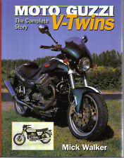 Moto Guzzi V-Twins Complete Story 1920s on V7 Turismo Military Police Le Mans +