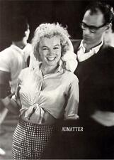 Marilyn Monroe Arthur Miller Pin-up Sexy Photo showing Belly!