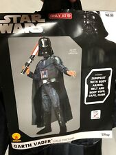 Star Wars Darth Vader Halloween Costume Size Youth Small 4-6 Ys Rubies Nip