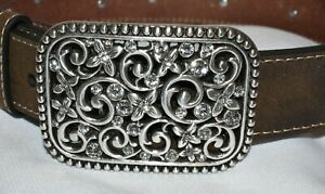 Girls Western Belt - Ariat Style #A1301644 - Embroidered Flowers - Size 22