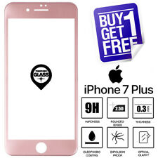 For Apple iPhone 7 / 8 Plus 100% Tempered Glass Screen Protector Rose Gold