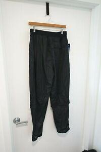 Mens Callaway Black Rainsuit Golf Pants Large NWT