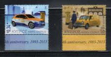 Cyprus-MNH-complete set of 2-2013--postal cars--Sc# 1190-91