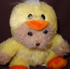 "Teddy Bear Easter Duck Costume 7"" Stuffed Animal Plush Toy Reese's Hershey Co"