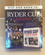 Ryder Cup Legends DVD & BOOK set 2010