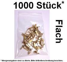 1000 Stück* Flachkopfklammern Musterbeutelklammern Verschlußklammer Warensendung