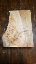 Figured/Curly/Burl Maple Lumber/Slab 13 1/2