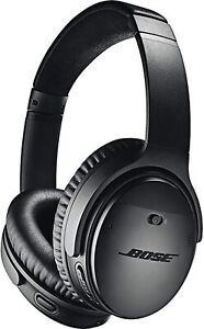 Bose QuietComfort 35 QC35 Series II Wireless Noise-Cancelling Headphones - Black
