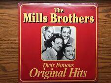 MILLS BROTHERS & INK SPOTS *SEALED* LP RECORD ALBUM ITEM #1581