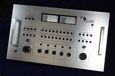 Nakamichi 610 Stereo Control Preamplifier w/ Alt. Face, Manual, Cover & Orig Box