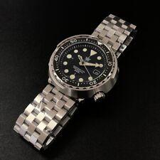 STEELDIVE Marinemaster SD1975 Automatic Seiko Tuna Can Homage Diver Watch NH35