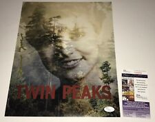 DAVID LYNCH Signed TWIN PEAKS 11x14 Photo IN PERSON Autograph PROOF JSA COA