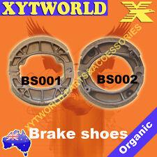 FRONT REAR Brake Shoes for Honda C 50 Single seat model 1995-2002