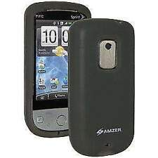 Amzer Grey Silicone Skin Jelly Case for Sprint Htc Hero